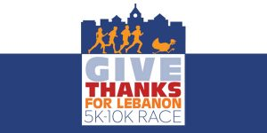Give Thanks for Lebanon 5K/10K Race